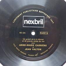 Disque souple Flexi NEXBRIL ANNE MARIE CARRIERE  JEAN VALTON