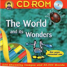 THE WORLD AND ITS WONDERS | School reports | Win 95 98 XP ( 7 8 10 see listing )