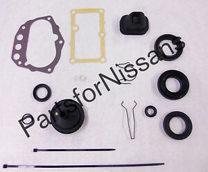 GENUINE NISSAN 1986-1997 D21 4CYL 4WD MT PICKUP TRANSMISSION GASKET SEAL KIT OEM