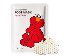 [It's skin] Sesame Street Foot Mask Special Edition Foot Cream treatments mask