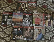 Huge Lot 10 Cowboys & Indians Magazines 2014-2016 Western (MAG LOT 1)