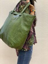 Shopper Leder Animalprägung Damentasche Strandtasche Unikat Handmade NEU