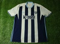 WEST BROM WBA ENGLAND 2016/2017 RARE FOOTBALL SHIRT JERSEY HOME ADIDAS ORIGINAL