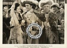 Lot of 2, Bob Hope, Kellaway, Schildkraut stills MONSIEUR BEAUCAIRE (1946)