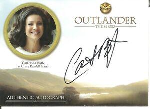 Outlander Season 3 Caitriona Balfe as Claire Fraser Autograph Trading Card #CB1