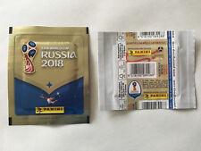 POCHETTE PANINI WC COUPE MONDE 2018 RUSSIA PACKET BUSTINA HORIZONTAL WHITE BLANC