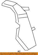 Dodge CHRYSLER OEM 15-18 Challenger Front Bumper-Bumper Bracket Right 68375013AA