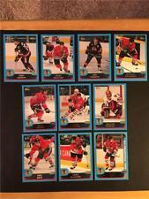 2001/02 Topps Chicago Blackhawks Team Set 10 Cards