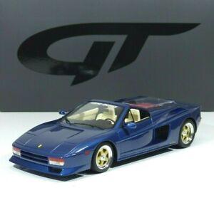 Koenig Specials Ferrari Testarossa Spyder Baujahr 1985 blue 1:18 GT329 GT-Spirit