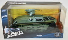 Véhicules miniatures verts Fast & Furious 1:24