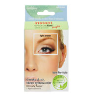 Godefroy Instant Eyebrow Tint Botanical Single Application Kit - Light Brown
