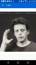 PHILIP Glass: Music in Twelve Parts The Philip Glass Ensemble 2 CD set like new