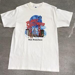 Planet Hollywood San Francisco Tshirt Mens Medium Made USA Vintage 1991
