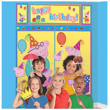 Peppa Pig Birthday Party Scene Setter with Props