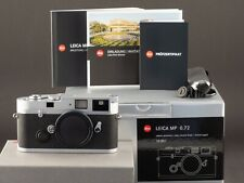 Leica MP 0.72 10301 silber analog 2020 -NEU- FOTO-GÖRLITZ Ankauf+Verkauf