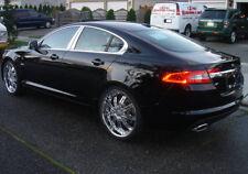 2008-2015 Jaguar XF 4Pc Chrome Pillar Post Stainless Steel Trim Door Cover
