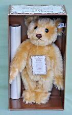 Steiff Replica 1906 Limited Edition Teddy Bear White Tag 1990 406096 33cm