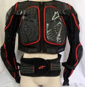 XL Alpinestars Bionic Action Jacket Back Elbow Chest Shoulder Protector Belt