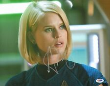 Alice Eve Signed 11x14 Photo PSA/DNA COA Star Trek Into Darkness Picture Auto'd