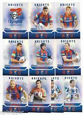 2017 NRL Traders Pearl Parallel Special KNIGHTS Team Set