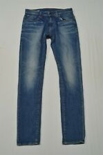 G Star 30 x 32 Revend Super Slim Medium Distressed Flex Denim Jeans