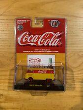 2019 M2 MACHINES COCA COLA 1960 VW DELIVERY VAN YR01 CHASE NEW ON CARD #11 750