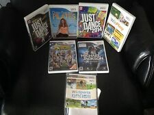 Wii game lot (8)