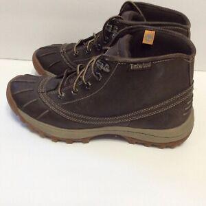Women's Timberland Chukka Waterproof Leather Boot Size 9.5