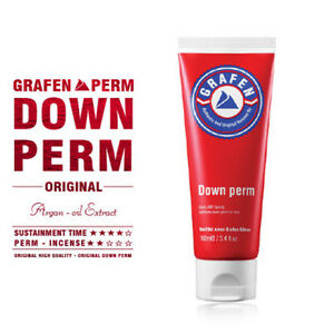 GRAFEN DOWN PERM original 100ml Thick Strong Hair (Male self-8 degrees down)