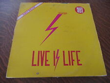 maxi 45 tours stargo live is life