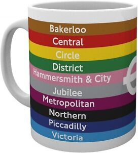 London Underground Lines  Ceramic Mug (ge)