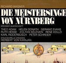 """KARAJAN """"WAGNER: DIE MEISTERSINGER VON NURNBERG"""" LP 1971 emi"""