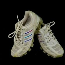 Adidas Bounce Womens Size 6 White Training Shoes Workout Jogging Running