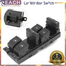 1S12477 Window Master Switch Control Power For 99-04 Volkswagen Golf Bora Jetta