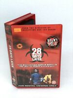 28 Days Later: Film By D.Boyle  Ex Rental Big Box VHS Tape VGC Tested