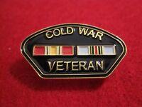 COLD WAR VETERAN Victory Medal,  Double Ribbon Pin/Badge Cold War Vets..
