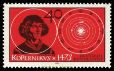 EBS Germany 1973 500th birthday of Nicolaus Copernicus Michel 758 MNH**