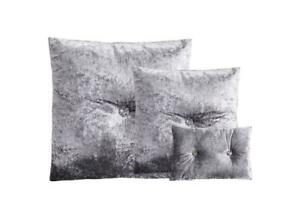 Luxury Crushed Velvet Diamond filled cushion Covers three size and ten colours