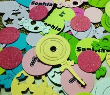 candyland Birthday Table Confetti 300 count' Party decoration- Personalize