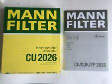 *NEW* MANN POLLEN FILTER CU 2026 CABIN / POLLEN FILTER - FORD/FIAT/CHRYSLER ETC
