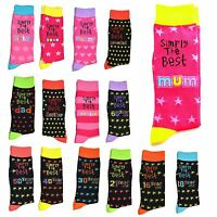 Simply The Best Socks Age Birthday Christmas Mothers Day Fathers Gifts Unisex