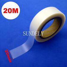 20m Seam Sealing Tape (20mm) Iron On Hot Melt 2layer Waterproof PU Coated Fabric