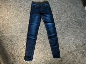 Ladies crease wash skinny stretch jeans by 10 store.com uk size 8 bnwt