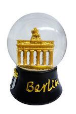 Berliner Schneekugel Berlin Brandenburger Tor schwarz gold 6,5 cm Deutschland