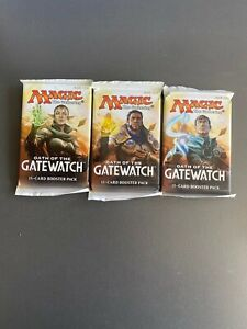 Magic: The Gathering Oath of the Gatewatch 15-Card Booster Pack x3