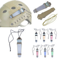 WST Tactical SurvivalSignal Light Safety Identify Flashlight Helmet Accessories