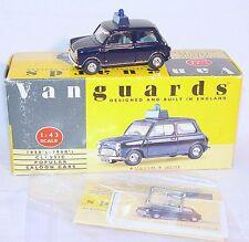 Lledo Vanguards 1:43 Austin MORRIS MINI 7 POLICE Model Car MIB`95!