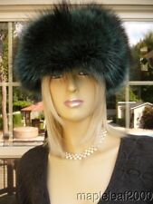 RACCOON FUR LEATHER TROOPER HAT (FOR MEN & WOMEN) *NEW* SMALL