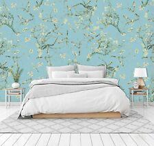 3D Flowering Branch RAI747 Wallpaper Mural Self-adhesive Uta Naumann Honey