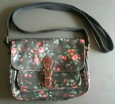 CATH KIDSTON SATCHEL CROSS BODY SHOULDER BAG SPRAY FLOWERS